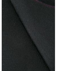 Kent & Curwen - Black Reversible Scarf for Men - Lyst