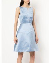 Dice Kayek - Blue Slit Chest Dress - Lyst