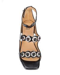 Toga Pulla - Black Polido Sandals - Lyst