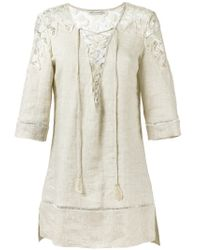 Martha Medeiros - Natural Celia Tunic - Lyst