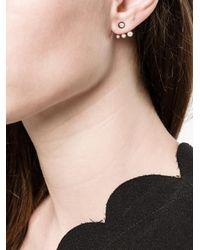 Maria Black - Metallic Stud Diamond Earring - Lyst