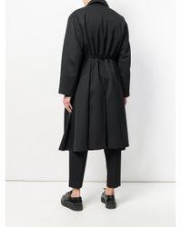 Jil Sander - Black Oversized Coat for Men - Lyst