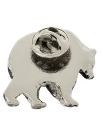 DSquared² - Metallic Animal Pin Brooches - Lyst