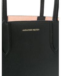 Alexander McQueen - Black Shopper Tote - Lyst