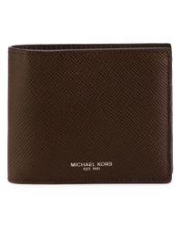 Michael Kors - Brown 'harrison' Wallet for Men - Lyst