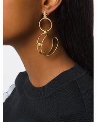 Paula Mendoza - Metallic Stbc Earrings - Lyst