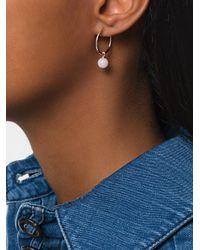 Astley Clarke - Metallic Opal Vera Drop Hoop Earrings - Lyst