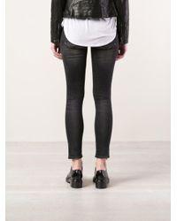 R13 - Black 'kate' Skinny Jeans - Lyst
