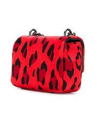 Tom Ford - Red Mini Leopard Print Bag - Lyst