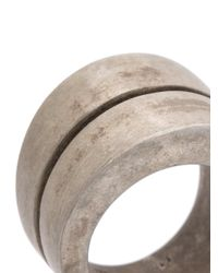 Parts Of 4 - Metallic Chasm Ring for Men - Lyst