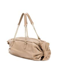 RED Valentino - Brown Red(v) Bow Detailed Tote - Lyst