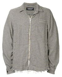 Undercover - Multicolor Checked Shirt Jacket for Men - Lyst