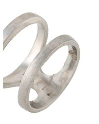 Polina Sapouna Ellis - Gray Dorian Ring for Men - Lyst