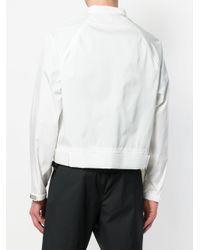 Prada - White Polyamide Jacket for Men - Lyst
