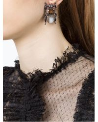 Camila Klein - Metallic Besouro Earrings - Lyst