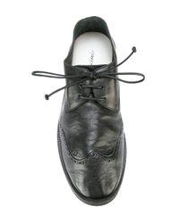 Marsèll - Black Brogue Shoes for Men - Lyst