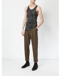 Haider Ackermann - Green Slim Trousers for Men - Lyst
