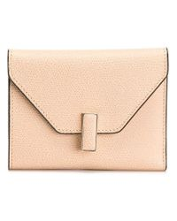 Valextra - Natural 'iside' Wallet - Lyst