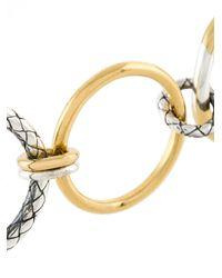 Bottega Veneta - Metallic 3-way Ring - Lyst