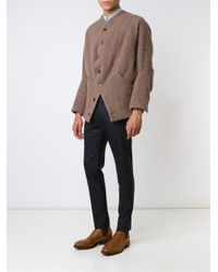 Vivienne Westwood - Brown Buttoned Cardigan for Men - Lyst