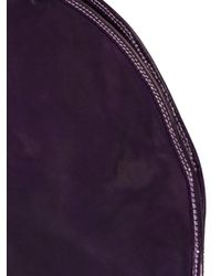 Guidi - Purple Round Shaped Shoulder Bag - Lyst