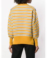 Dagmar - Yellow Irene Striped Sweater - Lyst