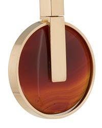 Crystalline - Metallic Agate Earrings - Lyst