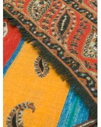 Etro | Multicolor Paisley Printed Scarf for Men | Lyst