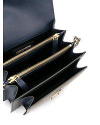 Marni - Blue Trunk Leather Shoulder Bag - Lyst