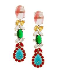 Iosselliani - Metallic Elegua Earrings - Lyst