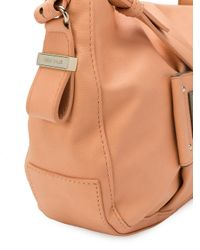 See By Chloé - Natural Logo Patch Shoulder Bag - Lyst