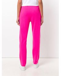 Majestic Filatures | Pink Knitted Track Pants | Lyst