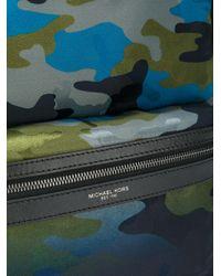 Michael Kors - Blue Camouflage Print Backpack for Men - Lyst