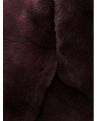 Yves Salomon - Red Four Rex Collar - Lyst