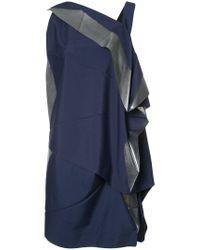 Issey Miyake - Blue Origami Dress - Lyst