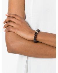 Rosa Maria - Brown Globus Bracelet - Lyst