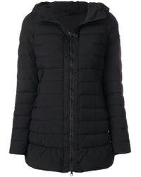 Peuterey - Black Zipped Padded Jacket - Lyst