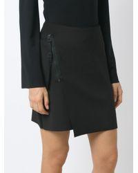 Osklen - Black Panelled Skirt - Lyst