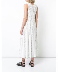 See By Chloé - White Rainbow Wrapped Seam Dress - Lyst