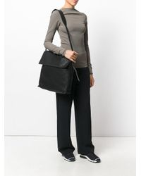 Rick Owens | Black Large Messenger Bag | Lyst