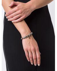 Loree Rodkin - Black Beaded Diamond Charm Bracelet - Lyst