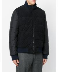 Herno - Blue Padded Coat for Men - Lyst