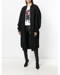 A.F.Vandevorst - Black Zipped Midi Coat - Lyst