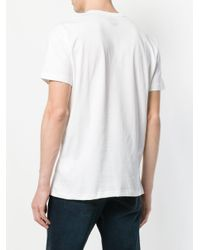 Colmar - White Logo Print T-shirt for Men - Lyst