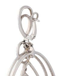 Loree Rodkin - White Spherical Star Drop Diamond Earrings - Lyst