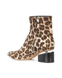 Alexander Wang - Brown Jude Leopard Ankle Boots - Lyst