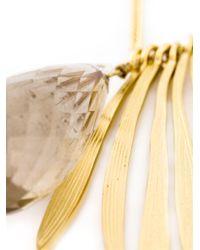 Wouters & Hendrix - Metallic 'bamboo' Rutilated Quartz Necklace - Lyst