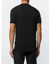 DSquared² - Black Silhouette Print T-shirt for Men - Lyst