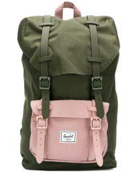 Lyst - Herschel Supply Co. Medium Little America Backpack in Green ... b2611635c1