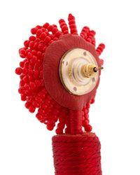 Mignonne Gavigan - Red Beaded Drop Earrings - Lyst